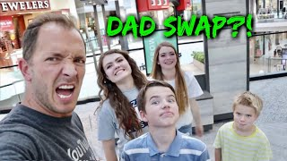 Mystery DAD SWAP! Back to School Shopping Challenge!!