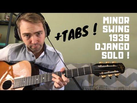 Minor Swing Django Solo + Tab