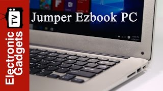 14.1 Inch 1080P FHD Jumper Ezbook i7 Laptop PC with Intel Core i7 CPU, 4GB + 128GB