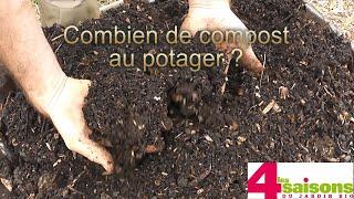 Combien de compost au potager ? - Les 4 Saisons du jardin bio -