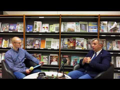 Wywiad z Wojciechem Sumlińskim,   po spotkaniu autorskim 02.12.2017 Stavanger -Bryne