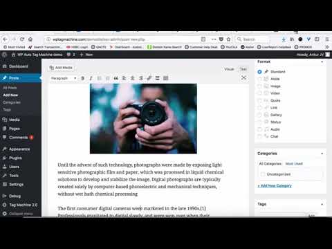 Wordpress tutorial full course / wp-tag-machine-2-0-review thumbnail