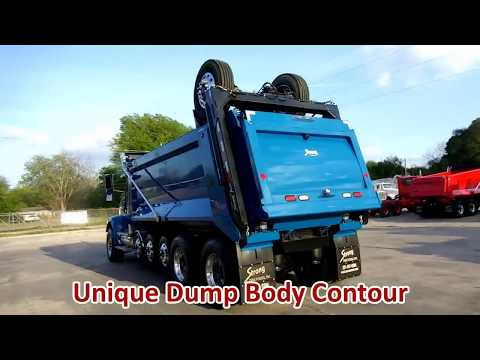 Dump Truck for Sale: 2009 Peterbilt - Only 40K Miles - 7-Axle Super Dump