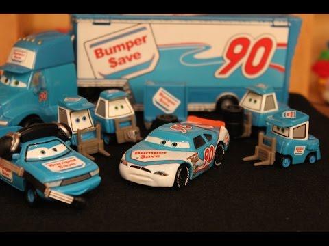 Mattel Disney Cars Team Bumper Save Die Casts Youtube