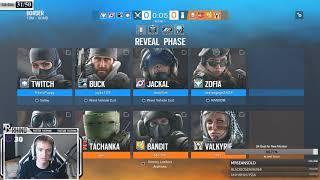 4v4 Rainbow Six Siege Tournament (Full Stream)