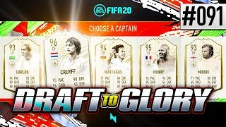 HOW TO GET PRIME ICON MOMENTS IN DRAFT!! - FIFA20 - ULTIMATE TEAM DRAFT TO GLORY #91