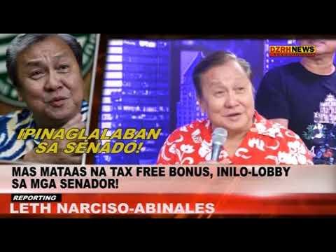 'TAX-FREE BONUS'