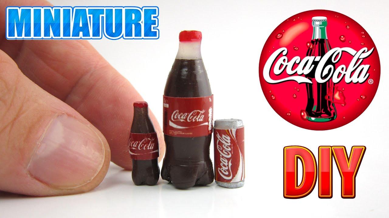 /'Coca Cola/'   Sign DOLLHOUSE 1:12 scale Miniature