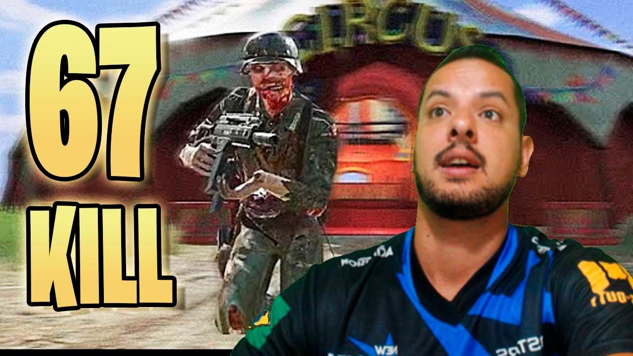 REAGINDO AO RECORDE MUNDIAL 67 KILLS NO TRIO VS SQUAD NO BR DO CALL OF DUTY MOBILE #codashop