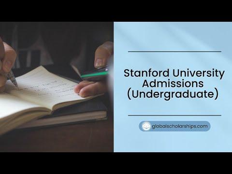 Stanford University Scholarships 2019 (Fully Funded