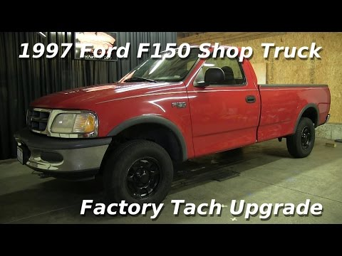 1997 Ford F150 Xl Truck Factory Tach Upgrade