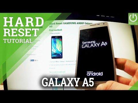 Hard Reset SAMSUNG A500F Galaxy A5 - HardReset info