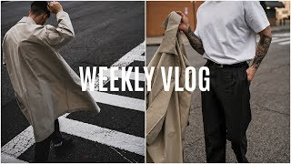 WEEK IN THE LIFE: New Balenciaga Shoes & Going To New York