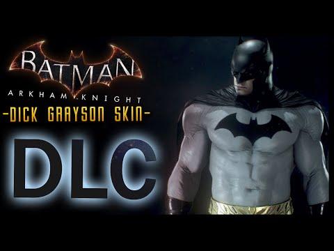 Batman Arkham Knight: DLC Dick Grayson Skin & LORE (Iconic Grey & Black)