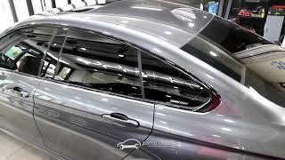 [파츠클럽] BMW 420i 미네랄그레이 블랙유광 랩핑…