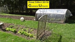 Zone 5 May 2016 Garden Update-Upstate New York