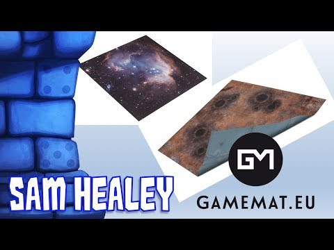 Space & Fallout/Imperial Base Playmats Review with Sam Healey
