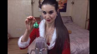 *** Snow Maiden role play you are my santa ** : soft spoken, tapping candy, tapping glass, sexy asmr