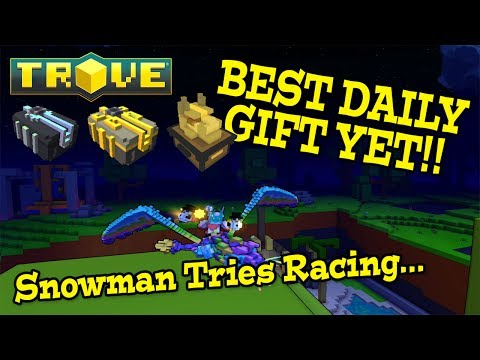 Trove: BEST DAILY LOG IN BONUS YET! (Watch Me Suffer..)