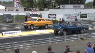 The DIGS at Raceway Park Englishtown NJ - Nostalgia Drags - Burnouts - Horsepower !