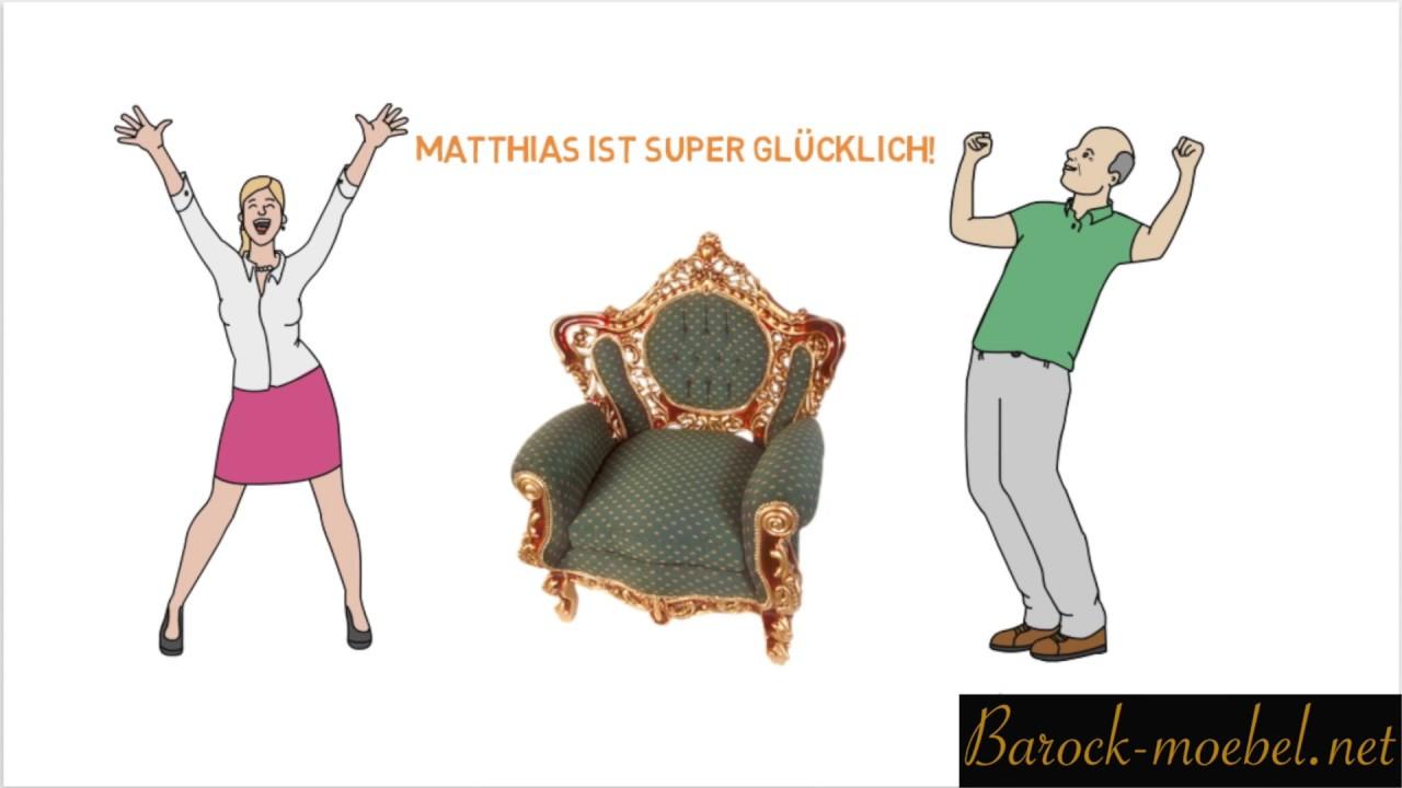Barock Möbel Online : barock m bel online kaufen youtube ~ Sanjose-hotels-ca.com Haus und Dekorationen