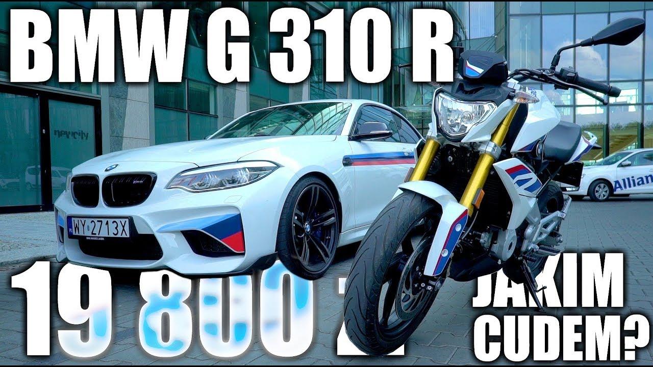 Ogromny BMW G 310 R - 100 km/h poniżej 7 sek i cena poniżej 20 000 zł? Ale DO43