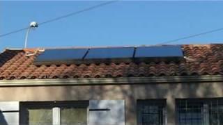 installation panneau solaire thermique pour eau chaude sanitaire ECS