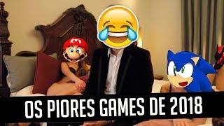 OS PIORES GAMES DE 2018 ATÉ AGORA