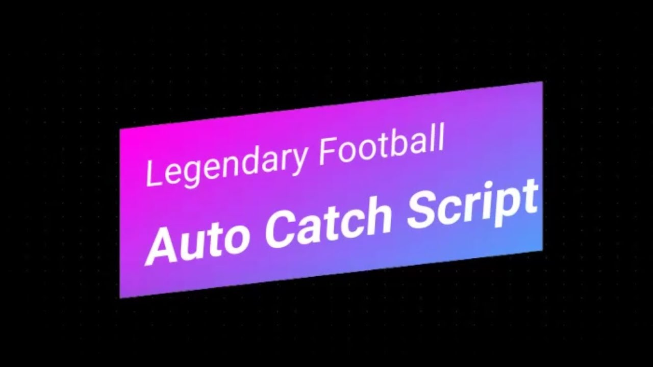 Auto Catch Script Catch The Ball Without Clicking
