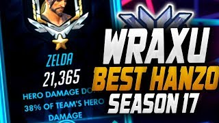 wraxu-insane-hanzo-top-dps-21k-overwatch-season-17-top-500-