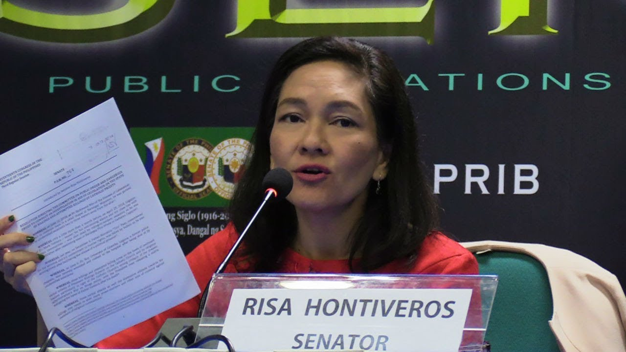 Are priests target of 'tokhang' now? Hontiveros wants Senate probe