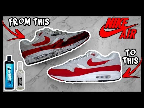 "CLEANING FILTHY ""OG"" NIKE AIR MAX 1's TO LOOK NEW AGAIN!"
