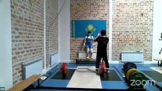 Чемпионат Республики Казахстан по тяжелой атлетике среди женщин в к55 59
