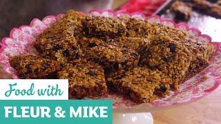 Mixed Seed & Apricot Flapjacks | Fleur & Mike