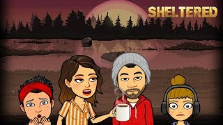 MI FAMILIA DEBE SOBREVIVIR COMO SEA - Sheltered (Survival Game)
