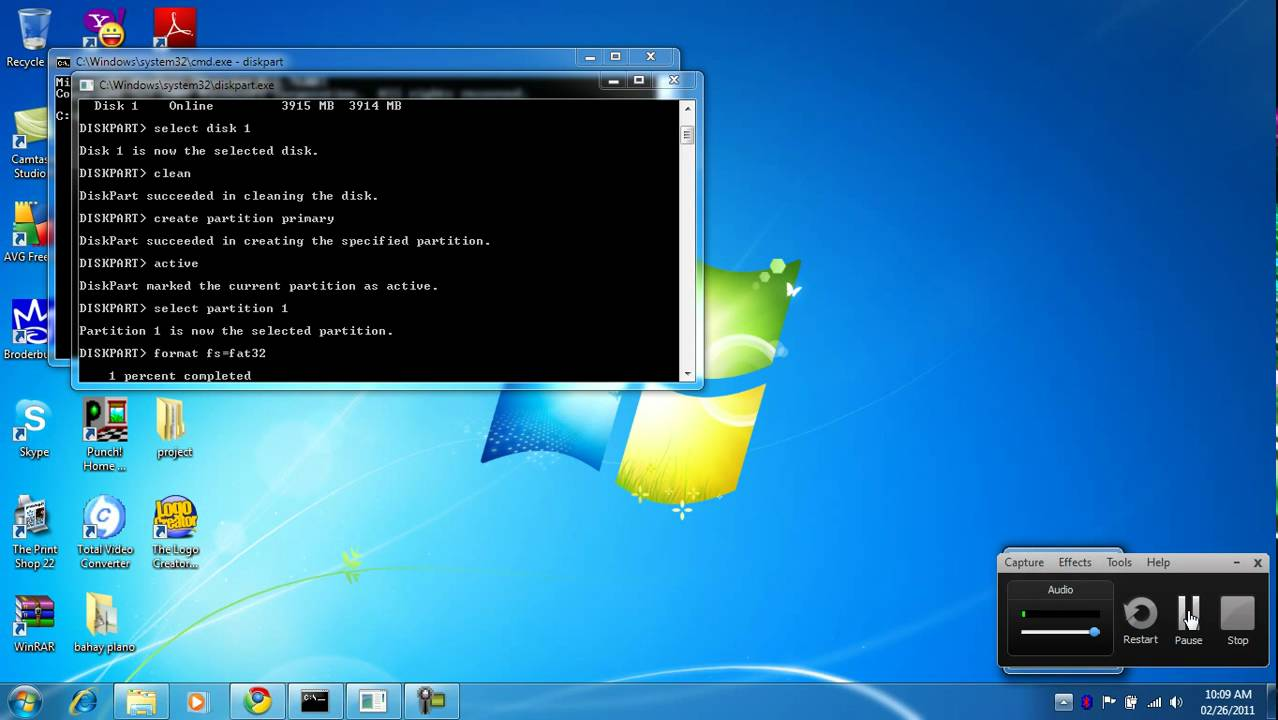 How Torepair A Corrupted Flash Drive Using Cmd Command Prompt Flashdisk Hp 2gb Youtube