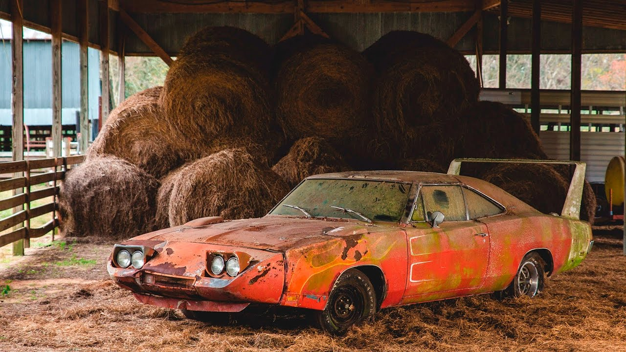 5 MOST AMAZING BARN FINDS - YouTube