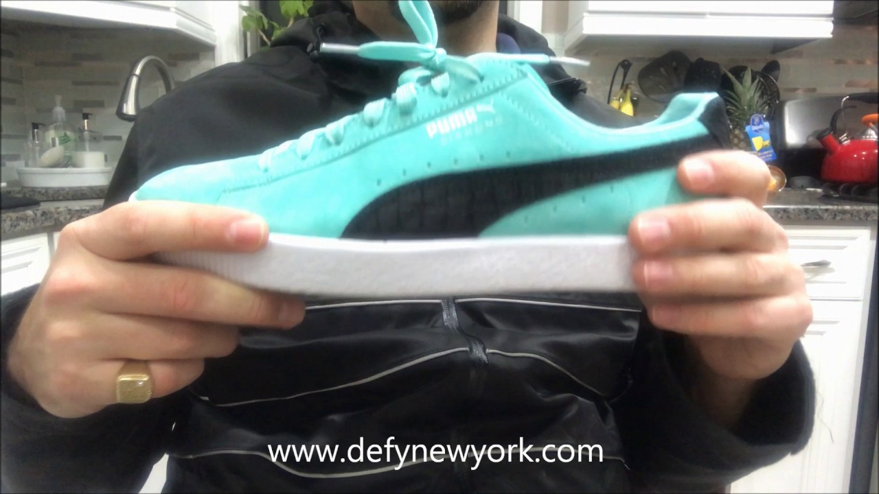 e0ed7b2665a LIVE! PUMA Clyde x Diamond Supply Co Review   On Feet - YouTube
