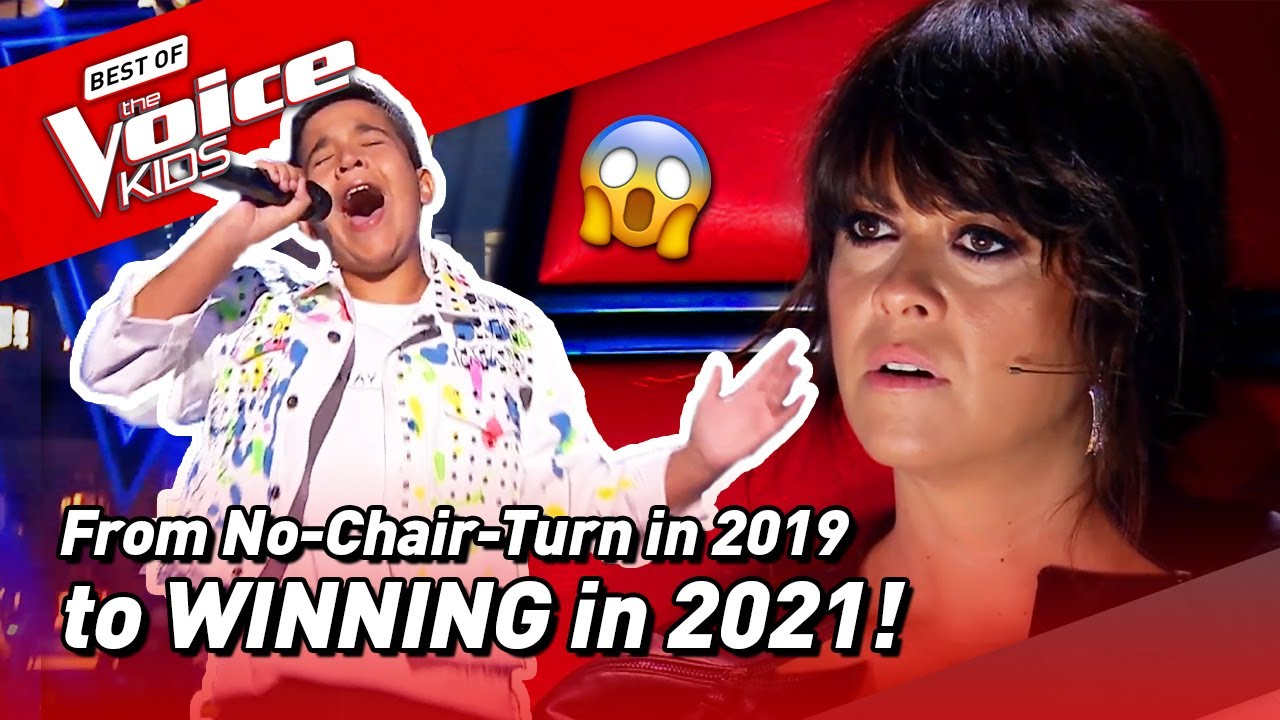 Levi Diaz LOST the Blinds in 2019 but WINS The Voice Kids Spain in 2021! 😱 | Road To