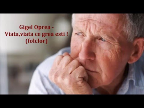 Viata viata ce grea esti - Gigel Oprea