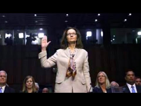 CIA director nominee Gina Haspel testifies before Senate Intelligence Committee. May 9, 2018.