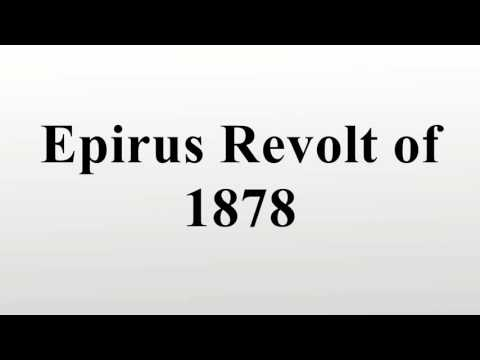 Epirus Revolt of 1878