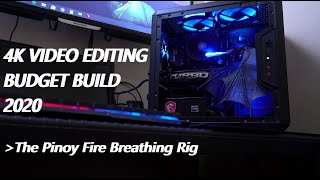 4k video editing budget pc build 2020 it's 2020. about time you put together your own high end that doesn't break ...