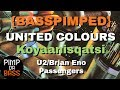 watch he video of KOYAANISQATSI & United Colours Mix {Bass Boosted} Crazy Time Lapse - U2/Brian Eno - Passengers