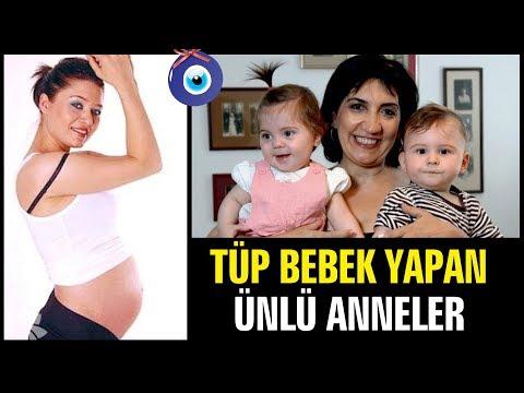 Tüp Bebek Yöntemiyle Hamile Kalan Ünlü Anneler!