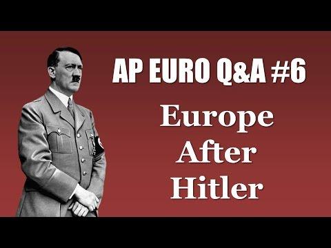 AP Euro Post-WWII Stuff (Cold War, Feminism, European Integration, etc.)