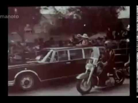 سفر شاه و شهبانو به بوشهر و بازديد از نيروگاه اتمی