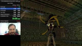Tomb Raider 3 Any% Speedrun #2 (1:24:37 RTA) (Livestream-Aufzeichnung)