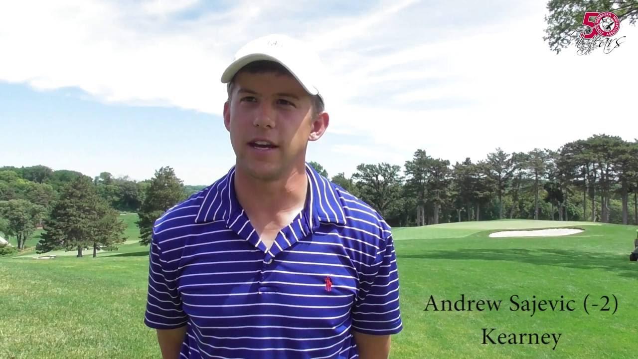 nebraska amateur andrew sajevic second round interview 2016 nebraska amateur andrew sajevic second round interview