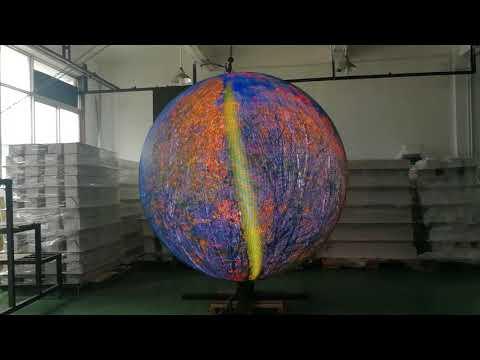 Sphere led display P4 indoor led globe display